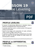 Profile Leveling Lec
