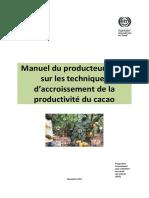 67 Manuel formation producteurs cacao productivite