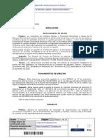 Resolución Consejería Industria, Empleo y Promoción Económica firma Consejero