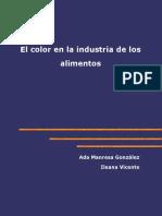 El color en la Industria de Alimentos