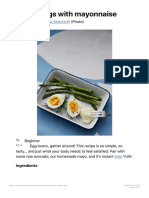 Boiled Eggs With Mayonnaise - Diet Doctor