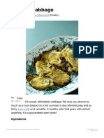 Roasted Cabbage - Diet Doctor