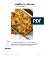 Low-carb Cauliflower Cheese - Diet Doctor 1