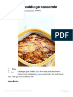 Low-carb Cabbage Casserole - Diet Doctor