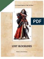 WFRP Night's Dark Masters Lost Bloodlines