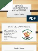 Fog & Sludge Presentation Piche
