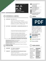 Resume Daniel Lunar (Updated)