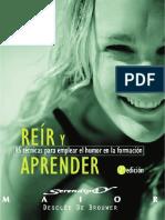 Reír y aprender. 95 técnicas para emplear el humor en la formación.pdf