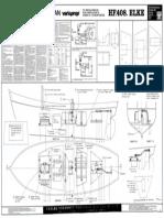 Graupner HF 408 Elke (2127) - RC-Einbauplan Varioprop