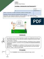 Guía de trabajo de Matemática para 8° básico