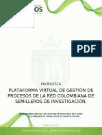 Propuestas PLataforma Integral de Gestion