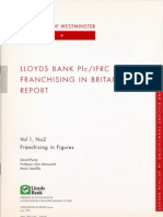 Lloyds Bank IFRC - Franchising in Figures Jun 1996 - Franchising in Britain Series