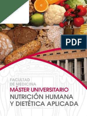 master en nutricion humana y dietetica aplicada ucm