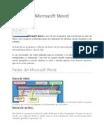 Partes del Microsoft Word