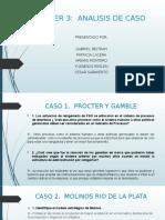 TALLER 3 ANALISIS DE CASOS
