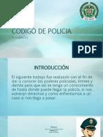 CÓDIGO DE POLICIA