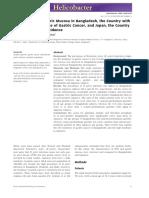 0 011-012 Gastric cancer Bangladesh cf Japan