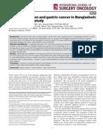 12 H pylori Gastric cancer Bangladesh Case control study