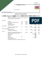 Matrices Presupuesto