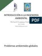 INTRODUCCIÓN A LA INGENIERIA AMBIENTAL - 2da sesion