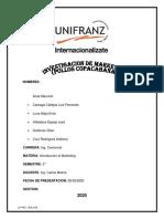 Investigacion de Marketing - Pollos Copacabana