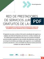 Red de Prestadores de Servicios Juridicos Gratuitos de CABA