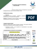 CONJUNTO GAULCHOVANG - ANALISIS DE INSTALACIÓNES
