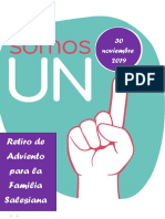 Diciembre Dossier Retiro Adviento Familia 1.0 Salesiana 2019
