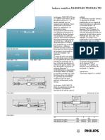 lámpara ioduro metálico MHD-MHN