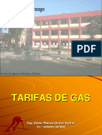 Tarifas de Gas 1 Presentacion