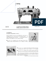 SINGER 401G Sewing Machine User Manul