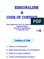 Keizrul - Professionalism and Code of Conduct Compatibility Mode