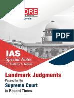 JUDGEMENTS