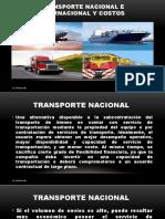 11-TRANSPORTE NACIONAL E INTERNACIONAL Y COSTOS