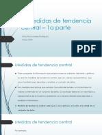 3.medidas de tendencia central (2o parcial) - 1a parte