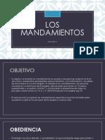 LOS MANDAMIENTOS LECCION # 4  EVANGELIO