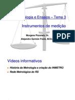 Instrumentos de medição - BOM