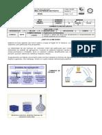Guía de química  logro 3- grado 11 -II P-