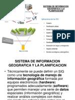 SISTEMA DE INFORMACION GEOGRAFICA Y LA PLANIFICACION