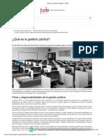 ¿Qué es la gestión pública_ _ FUDE
