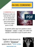130LA NOVIA DEL CORDERO 1.ppt