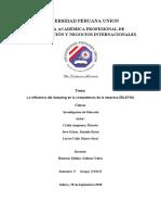 UNIVERSIDAD PERUANA UNIÓN. Trabajo de  Investigación (1)