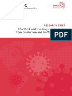 UNODC Covid 19 and Drug Supply Chain Mai2020