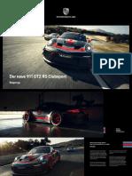 911 GT2 RS Clubsport - Fahrzeugbeschreibung