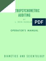 Electropsychometric Auditing (1952).pdf