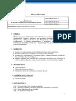 Ementa Psicopatologia Humanista-Existencial-Fenomenológica