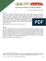 Agendas de Gênero nas políticas públicas no Brasil (1980-2016)