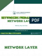 Network layer_NETWORKING_FUNDAMENTALS_2020-1