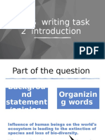 Writing Task 2 Introduction