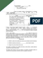 ACTA Y NOMINA DE PRESENCIA DE ASAMBLEA EXTRAORDINARIA PARA S.R.L.